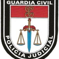 Militaria: GUARDIA CIVIL POLICIA JUDICIAL - EB01306 PARCHE INSIGNIA EMBLEMA. Lote 195183826