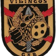 Militaria: GUARDIA CIVIL GAR VIKINGOS - EB01299 PARCHE INSIGNIA EMBLEMA POLICIA. Lote 195414623