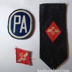 Militaria: ANTIGUO PARCHE DE LA PA POLICÍA AÉREA, AÑOS 80, SEGIGRAFIADO Y COGIDO CON IMPERDIBLE, 1 ROMBO Y 1 H. Lote 175617243