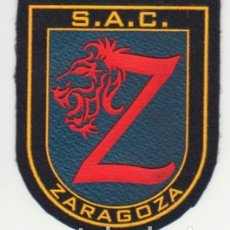 Militaria: POLICIA NACIONAL SAC ZARAGOZA - 1º VERSION SIN ESCUDO CNP - ÚNICO LOTE. Lote 207005292