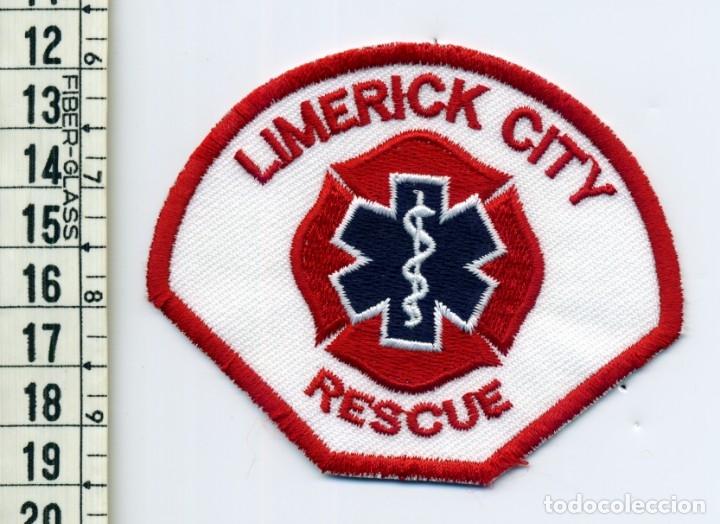 LIMERICK CITY RESCUE - IRLANDA - PARCHE EMERGENCIAS (Militar - Parches de tela )