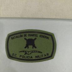 Militaria: PARCHE BATALLON CUARTEL GENERAL BRILAT. POLICIA MILITAR. Lote 177956012