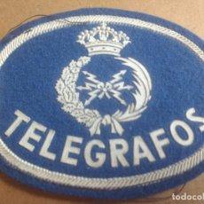 Militaria: AÑOS 70. PARCHE DE TELA TELEGRAFOS. MUY BUEN ESTADO. Lote 178656011