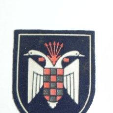 Militaria: PARCHE DE LA OJE ORGANIZACIÓN JUVENIL ESPAÑOLA. PARCHE DE CADETES Y GUÍAS. ÉPOCA DE FRANCO. MIDE 6,7. Lote 178664231
