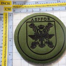 Militaria: PARCHE MILITAR. ASPFOR EJÉRCITO ESPAÑOL. MISIÓN AFGHANISTAN.. Lote 195190085