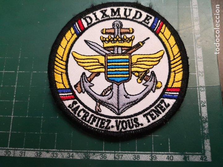 ARMADA FRANCESA. PARCHE DIXMUDE (Militar - Parches de tela )