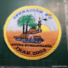 Militaria: EJERCITO ESPAÑOL. PARCHE IRAK 2003. Lote 179197786