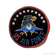 Militaria: ESCUDO DISTINTIVO DE BRAZO. US. AIR FORCE. PARCHE DE AVIACIÓN AMERICANA.. Lote 181349961