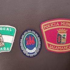 Militaria: LOTE DE PARCHES DE PECHO Y GORRA POLICIA LOCAL EN EXCELENTE ESTADO ( SE PUEDEN VENDER SEPARADOS). Lote 182016220