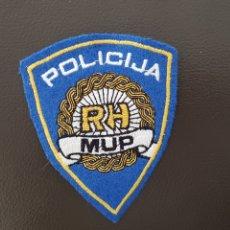 Militaria: PARCHE GUERRA DE LOS BALCANES POLICIJA RH MUP CROACIA INSIGNIA DE TELA RARO. Lote 182019348