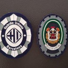 Militaria: LOTE DE PARCHES DE GORRA GUARDIA URBANA POLICÍA LOCAL ( SE PUEDEN VENDER SEPARADOS). Lote 182023252