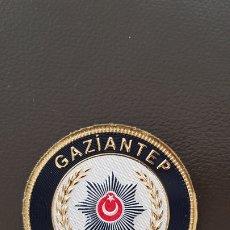Militaria: PARCHE POLICÍA ISTAMBUL GAZIANTEP EGM. Lote 182047343