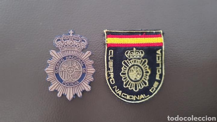 LOTE PARCHES CUERPO NACIONAL DE POLICÍA ( SE PUEDEN VENDER SEPARADOS) (Militar - Parches de tela )