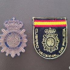 Militaria: LOTE PARCHES CUERPO NACIONAL DE POLICÍA ( SE PUEDEN VENDER SEPARADOS). Lote 182051996