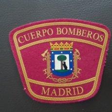 Militaria: PARCHE CUERPO DE BOMBEROS COMUNIDAD DE MADRID EXCELENTE ESTADO. Lote 182060512