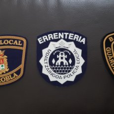 Militaria: LOTE DE PARCHES DE PECHO POLICÍA LOCAL EN EXCELENTE ESTADO ( SE PUEDEN VENDER SEPARADOS). Lote 182060995