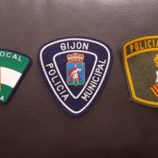 Militaria: LOTE DE PARCHES DE PECHO DE LA POLICÍA LOCAL ( SE PUEDEN VENDER SEPARADOS). Lote 182062603