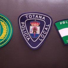 Militaria: LOTE DE PARCHES DE PECHO DE LA POLICÍA LOCAL EN EXCELENTE ESTADO ( SE PUEDEN VENDER SEPARADOS). Lote 182062723