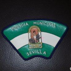 Militaria: PARCHE DE PECHO POLICÍA MUNICIPAL SEVILLA. Lote 182077237