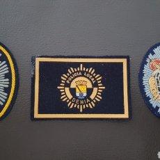 Militaria: LOTES DE PARCHES DE PECHO / GORRA DE LA POLICÍA LOCAL EXCELENTE ESTADO ( SE PUEDEN VENDER SEPARADOS). Lote 182078888