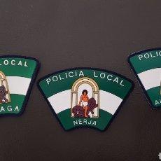 Militaria: LOTE DE PARCHES DE PECHO DE LA POLICÍA LOCAL ( SE PUEDEN VENDER SEPARADOS). Lote 182079283