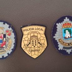 Militaria: LOTE DE PARCHES DE GORRA O PECHO DE LA POLICIA LOCAL ( SE PUEDEN VENDER SEPARADOS). Lote 182091337