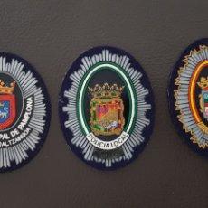 Militaria: LOTE DE DIFERENTES PARCHES GORRA POLICÍA LOCAL EN EXCELENTE ESTADO ( SE PUEDEN VENDER SEPARADOS). Lote 182097255