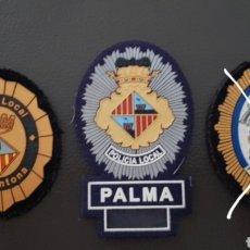 Militaria: LOTE DE PARCHES DE PECHO Y GORRA POLICÍA LOCAL ( SE PUEDEN VENDER SEPARADOS). Lote 182079697