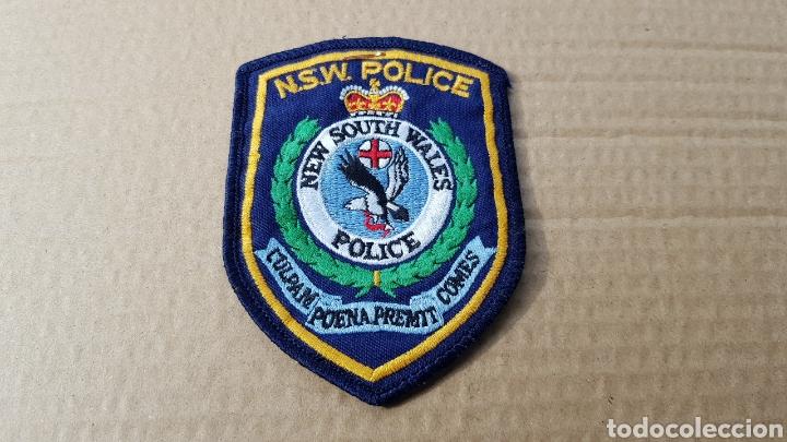 PARCHE EMBLEMA ESCUDO POLICÍA NEW SOUTH WALES POLICE (Militar - Parches de tela )