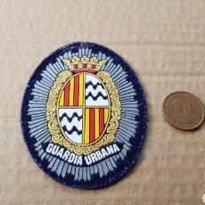 Militaria: PARCHE EMBLEMA ESCUDO GUARDIA URBANA. Lote 183001515