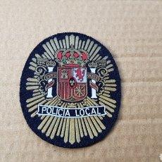 Militaria: PARCHE EMBLEMA ESCUDO POLICÍA LOCAL. Lote 183003903
