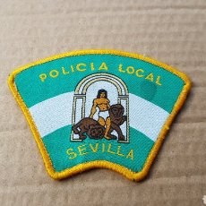Militaria: PARCHE EMBLEMA ESCUDO POLICÍA LOCAL SEVILLA. Lote 183207895