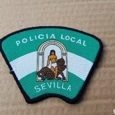 Militaria: PARCHE EMBLEMA ESCUDO POLICÍA LOCAL SEVILLA. Lote 183208425