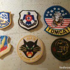 Militaria: PARCHES UNIFORMES VUELO TOMCAT - BLUE ANGELS - THUNDERBIRDS - TACTICAL AIR COMMAND - ALA 12 - ALA 15. Lote 183512920