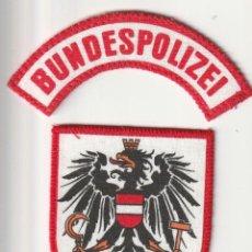 Militaria: AUSTRIA - POLICIA (PARCHE - PATCH - ÈCUSSON) . Lote 183855308