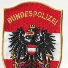Militaria: AUSTRIA - POLICIA (PARCHE - PATCH - ÈCUSSON) . Lote 183855350