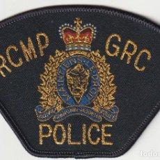 Militaria: CANADA - POLICIA (PARCHE - PATCH - ÈCUSSON) . Lote 183855925