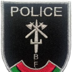 Militaria: PARCHE INSIGNIA EMBLEMA POLICIA NACIONAL DE BURKINA FASO EB01319. Lote 211706389