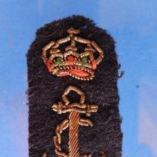 Militaria: MARINA DE GUERRA. ARMADA. DISTINTIVO ESPECIALIDAD. CELADOR. SUBOFICIALES. 1ª ÉPOCA DE JUAN CARLOS I.. Lote 188846137