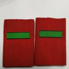 Militaria: HOMBRERAS DE AVIACIÓN DE SOLDADO PROFESIONAL DE LA CAMISA DE MANGA CORTA AÑOS 80. Lote 243989630