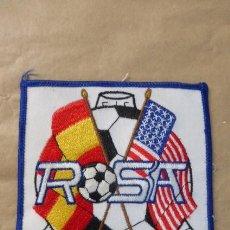 Militaria: EMBLEMA BORDADO DEL CLUB ROSA. HISPANO-NORTEAMERICANO DE LA BASE NAVAL DE ROTA.... Lote 190737057