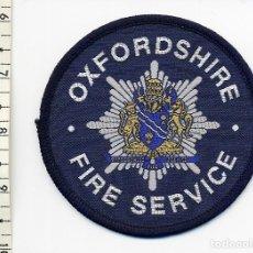 Militaria: OXFORDSHIRE FIRE SERVICE - PARCHE BOMBEROS REINO UNIDO. Lote 191212955