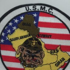 Militaria: PACHE GRANDE DE TELA USMC. DESERT SHIELD. TAMAÑO GRANDE.. Lote 191404560