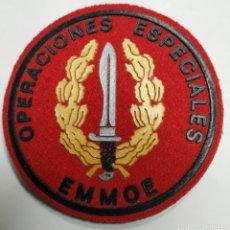 Militaria: PARCHE EMBLEMA DE BRAZO A COLOR CON VELCRO DE OPERACIONES ESPECIALES EMMOE. Lote 191919395