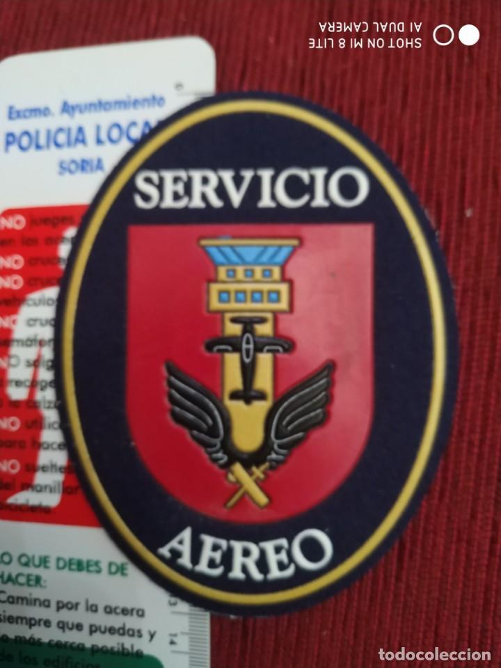 PARCHE EMBLEMA DISTINTIVO GUARDIA CIVIL POLICIA BENEMÉRITA SERVICIO AEREO (Militar - Parches de tela )
