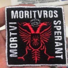 Militaria: PARCHE MORITVS SPERANT MOTVI DIFICIL DE ENCONTRAR . Lote 192780932