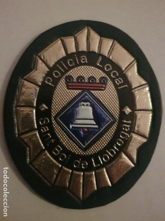 PARCHE POLICIA LOCAL MUNICIPAL SANT BOI DE LLOBREGAT CATALUÑA (Militar - Parches de tela )