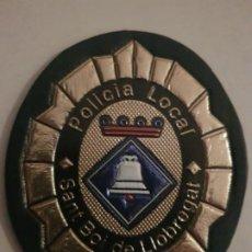 Militaria: PARCHE POLICIA LOCAL MUNICIPAL SANT BOI DE LLOBREGAT CATALUÑA. Lote 194239910