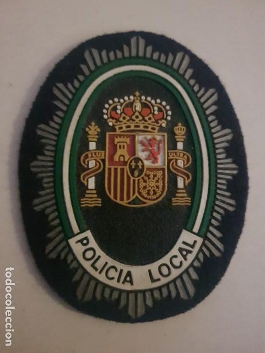 PARCHE POLICIA LOCAL MUNICIPAL ANDALUCIA (Militar - Parches de tela )