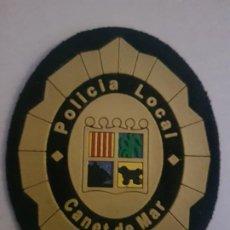 Militaria: POLICIA LOCAL MUNICIPAL CANET DE MAR CATALUÑA. Lote 194240292